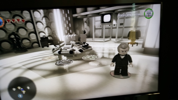 Capaldi Lego Tardis 2